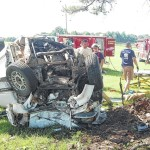 Cana teen airlifted after vehicle strikes tree head on