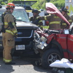 Two airlifted after Thursday wreck