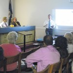 Downtown economic development presentation shown to town council