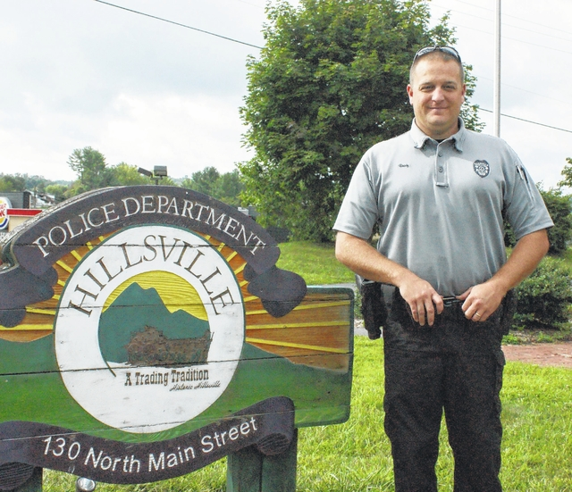 Hillsville Police Department announces new officer