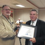 Carroll receives highest VACo award