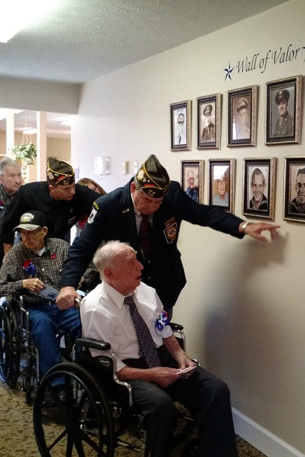 Veterans honored at Commonwealth Assisted Living