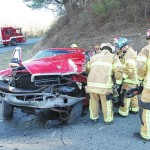 Hillsville man airlifted after collision with log truck