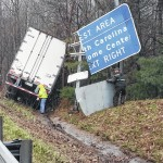 N.J. man charged with DUID after tractor-trailer crashes on I-77 in Carroll