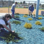 CCHS Building Trades pitch in