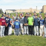 Team shaves heads in support of 'Wyatt the Warrior'