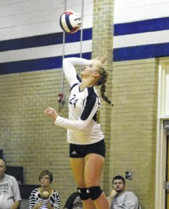 Carroll's Tompkins to play in state all-star volleyball game