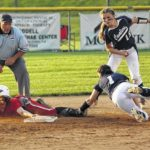 Cavs' strand chance at second softball title