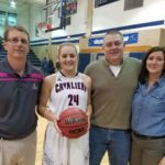 Kennedy scores 1,000th point in Carroll win
