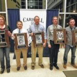 Five inducted into CCHS Sports Hall of Fame