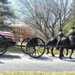 Law enforcement, well-wishers pay final respects to Carroll Deputy