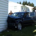 Chase ends with crash in home of Hillsville police chief's parents