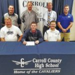 Five Cavaliers sign to play college sports