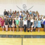 Carroll Middle students inducted into National Junior Honor Society