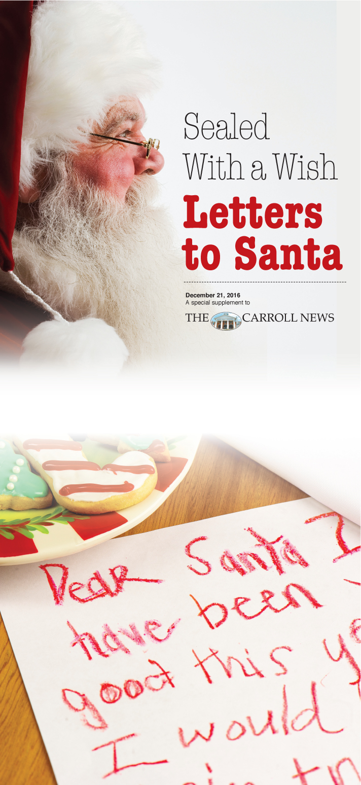 Carroll News  Letters To Santa