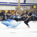 CCHS Winter Guard off to flying start