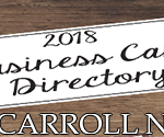 2018 Carroll Business Card Directory