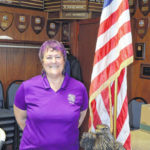 Terry named VFW's first female Commander