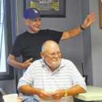 Yonce honored for 51 years with fire department